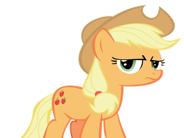Applejack doesn't like you by Supermanxdlolol