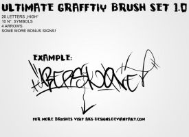 ULTIMATE GRAFFITY BRUSH SET V1 by Aks-Designs