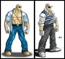 SSF4 Alternate Costume Sagat by arsenalgearxx