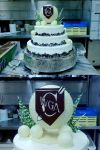 Golf ball Cake by stringy-cow