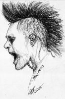+Jared Leto quick sketch+ by pingixd