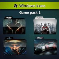 Folder Icons Game Pack 1 by RaFlAmeS