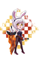 Riven Cute Bunny by Zupaipai