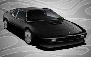 BMW M1 by dazza-mate