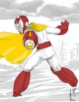 Protoman by Luvcnkll