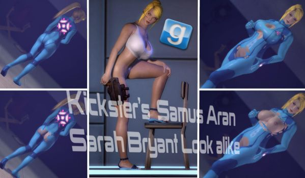 Kickster's Samus Aran Release For Gmod by Rastifan