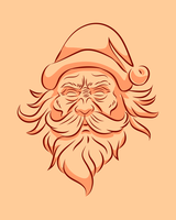 Bad santa by saraswathi