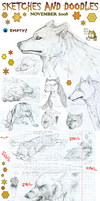 Sketches n Doodles - Nov 2008 by Kali-caracal