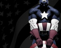 Captain America Tribute by BiggStankDogg