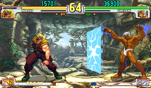 Nash in Street Fighter 3 by RieyTails