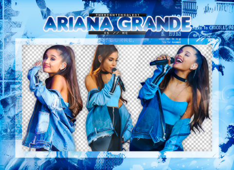 Ariana Grande - Pack Png #71 by TheNightingale01