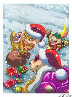 Koopa Christmas by Pu3ppchen