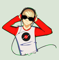 Dave Strider by Gilouw