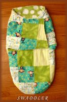 Quilted Swaddler by PrimmRose
