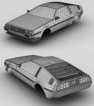 Delorean DMC 12 - outer mesh by sorriso-dan