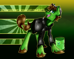 Jacksepticeye Pony by Downpourpony
