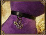 Cat collar charms by Damiane