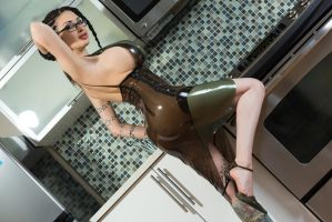 Too Hot For The Kitchen by Ariane-Saint-Amour