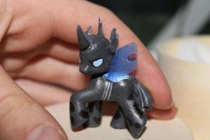 My Little Pony custom : Changeling by piikunen
