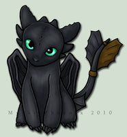 Toothless by MythicPhoenix