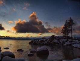 Sand Harbor Evening 2 by MartinGollery