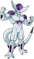 Frieza 5th form V7 by legoFrieza