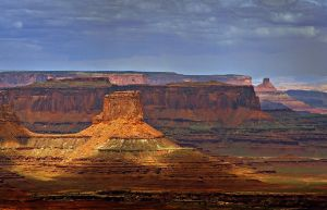 Blustery Canyonlands Afternoon by Minorhero