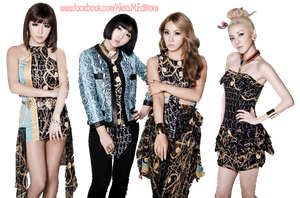2ne1 DO YOU LOVE ME PNG by DDLoveEditions