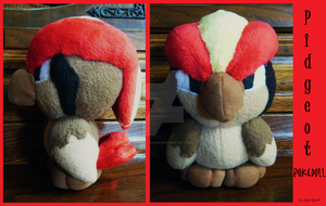 Pidgeot Pokedoll by Pickelicious