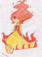 Flame Princess by Rosita-Pink