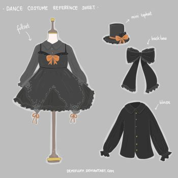 Halloween Dance Outfit by Demifluff