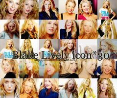 Blake Lively icons by OvOsmile