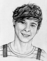 Louis Tomlinson from One Direction by SarahStar123