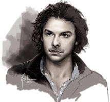 Aidan Turner by JuliaFox90