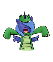 IM A DINOSUAR!!!!!!!!!!!!!!! by Phillyphia