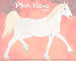 3407 Pink Nova [Official Reference] by horsy1050