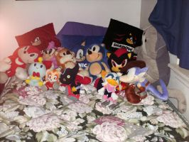 My Sonic plush collection by PPG-Katelyn