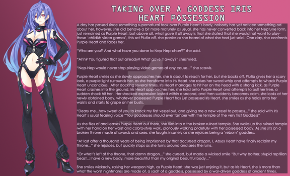 Taking Over a Goddes: Iris Heart Possession by RedQueenAkame