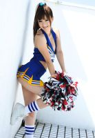 Japanese Cheerleader 05 by Hanzo-Hasashi