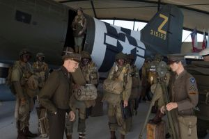 Eisenhower and the Eagles (C-47 Skytrain) by DavidKrigbaum
