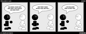 Trash Can No. 2 by simpleCOMICS