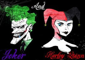 Joker and Harley 2 by jokercrazy