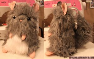 Chinchilla plush by loveandasandwich