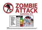 Zombie Attack Survival Sheet by aragon257