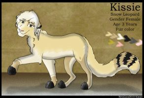 Kissie New Neto lins Character by AnimaP-NetoLins
