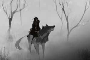 The Wolf And The Pirate by SagaTale
