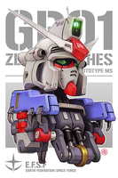RX-78GP01 Zephyranthes by aminkr