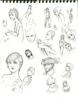 Traditionalsketchdump by mkw-no-ossan