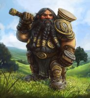 Brenwar the Dwarf by SHAWCJ