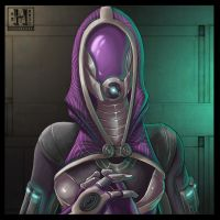 ME 2 - Tali Zorah Vas Normandy by Hedrick-CS
